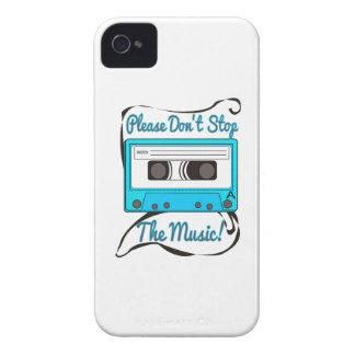 ¡No pare por favor la música! iPhone 4 Protector