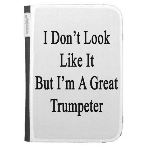 No parezco él sino que soy un gran trompetista