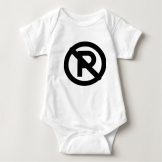 No parking baby bodysuit