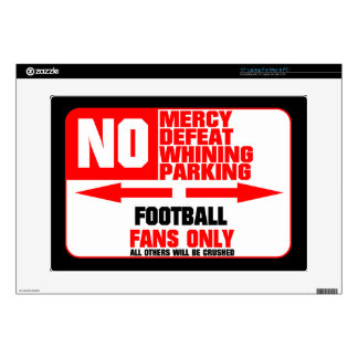 No Parking Football Sign Skins For Laptops