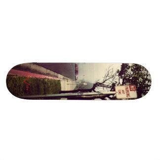 No Parking Skateboard Deck
