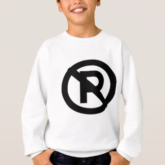 No parking sweatshirt