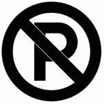 No Parking Symbol Photo Cut Outs