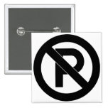 No Parking Symbol Pin