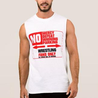 No Parking Wrestling Sign Sleeveless Shirt