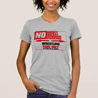 No Parking Wrestling Sign T-Shirt