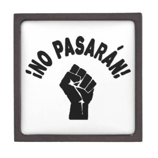 No Pasaran - They Shall Not Pass Premium Jewelry Boxes