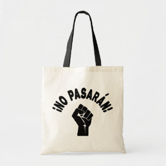No Pasaran - They Shall Not Pass Tote Bags