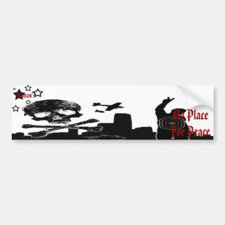 No Peace - Bumper Sticker