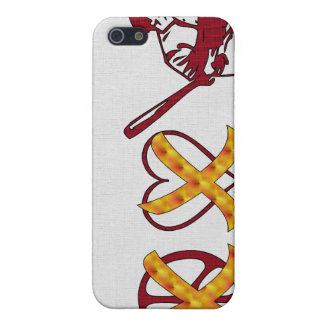 No Peace No Love Just Baseball Case For iPhone SE/5/5s