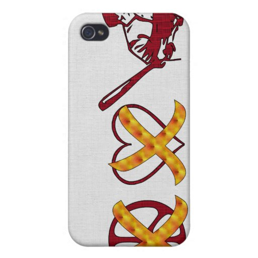 No Peace No Love Just Baseball iPhone 4/4S Case