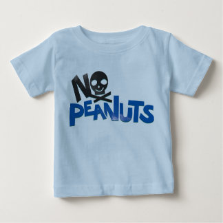 No Peanuts Blue Tee Shirt