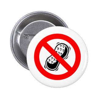 No Peanuts Pins