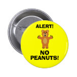 NO PEANUTS! BUTTONS