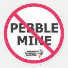 No Pebble Sticker