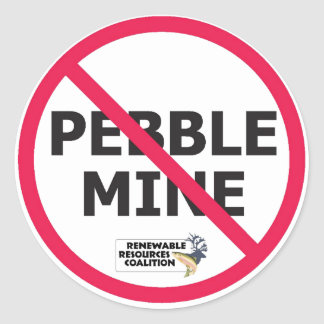 No Pebble Sticker