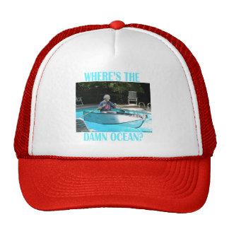 No perdido en el gorra del mar