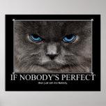 No perfeccione a nadie las ilustraciones del gato impresiones