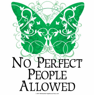 No Perfect People Allowed Statuette