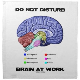 No perturbe el cerebro en el trabajo (el humor ana servilletas
