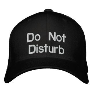 No perturbe gorra de béisbol