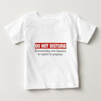 No perturbe inspirarse nuevos ámbitos t shirt