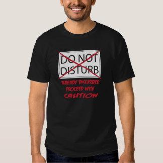 No perturbe la camisa