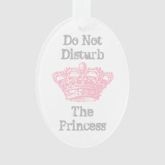 No perturbe la suspensión de la princesa puerta