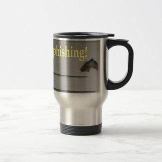 No phishing! 15 oz stainless steel travel mug