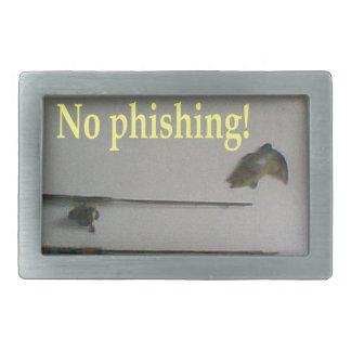 No phishing rectangular belt buckles