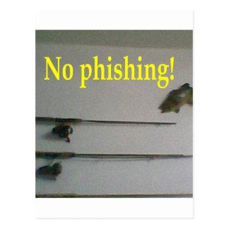 No phishing! post cards
