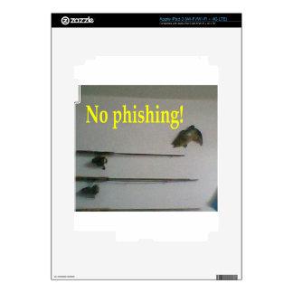 No phishing! iPad 3 skin