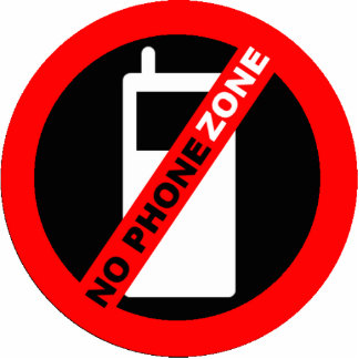 No Phone Zone Keychain (More Durable)