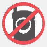 No Phone Zone Sticker