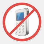 No Phone Zone Stickers