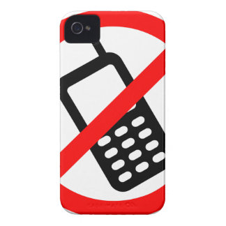 No Phones Allowed Case-Mate iPhone 4 Case