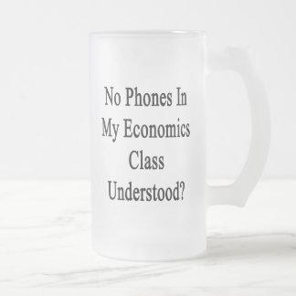 No Phones In My Economics Class Understood Coffee Mugs