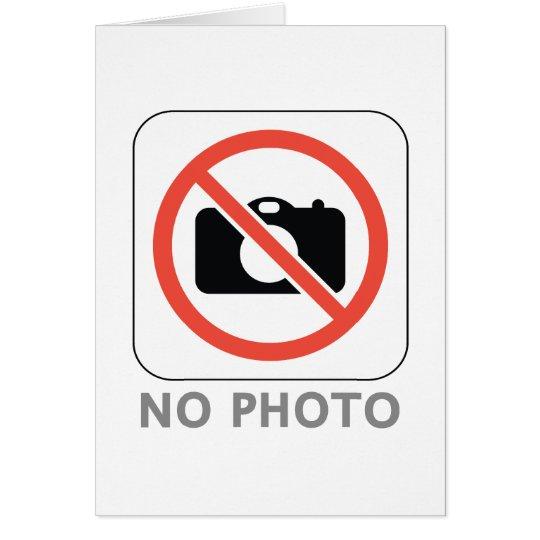 No Photo Card