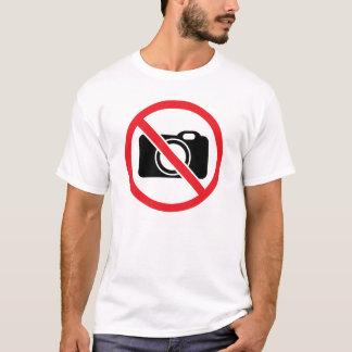 No Photography T-Shirt