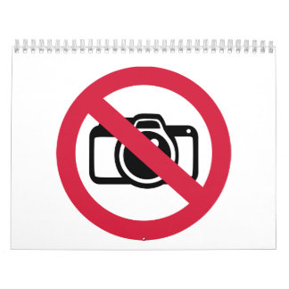 No photos pictures calendar