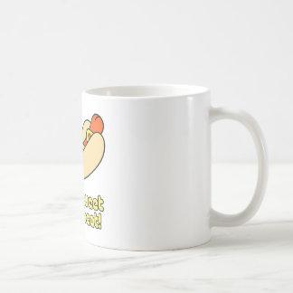 ¡No pia su carne! Tazas De Café