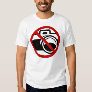 NO PICTURES SHIRT