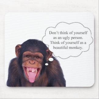 No piense en sí mismo como persona fea… tapete de ratones