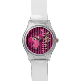 No piense en un elefante rosado relojes