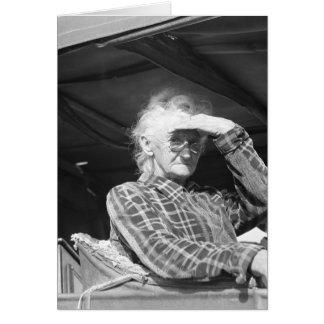 No pierda su despluman - 1936 felicitación