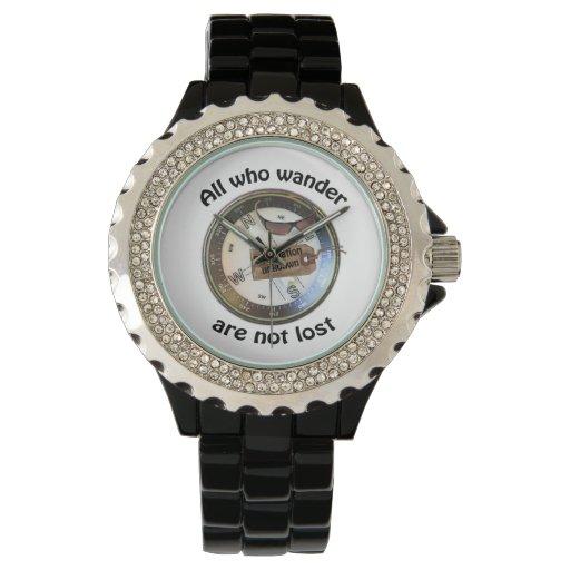 No pierden todos que vagan reloj de mano