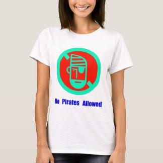 No Pirates Allowed T-Shirt