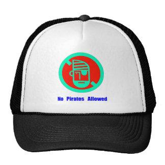No Pirates Allowed Trucker Hat