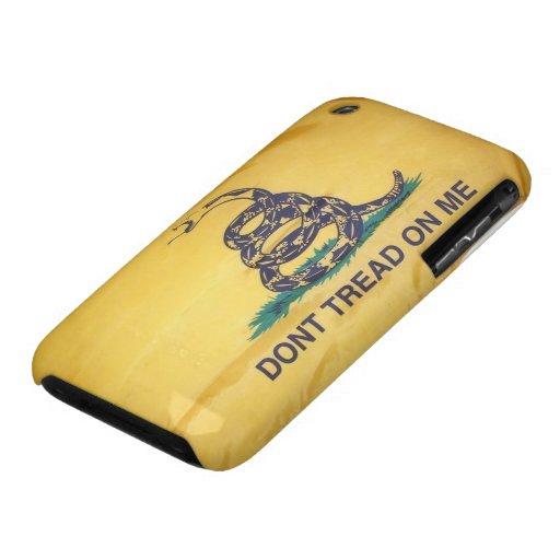 No pise en el caso del iPhone 3G/3GS de la bandera iPhone 3 Funda