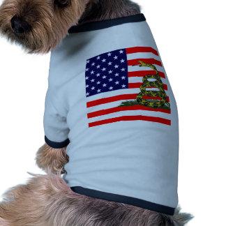 No pise en Los E E U U Camisa De Perrito
